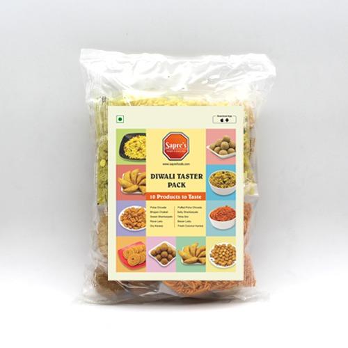 Diwali Taster Pack (10 in 1)/  दिवाळी टेस्टर पॅक